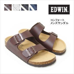 EDWIN エドウィン メンズ サンダル コンフォート フットベット eb1001 送料無料|ablya