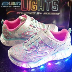 歩くたびにLEDが光るスケッチャーズのライトアップシリーズS Lights(エスライツ) 願いを込め...
