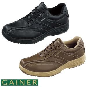 靴 スニーカー メンズ ゲイナー003 ウォーキングシューズ 4E ストレッチ ジッパー付き ktgn003 送料無料|ablya