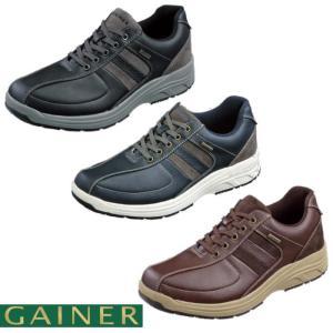 靴 スニーカー メンズ ゲイナー ウォーキングシューズ 4E ストレッチ ジッパー付き ktgn012 送料無料|ablya