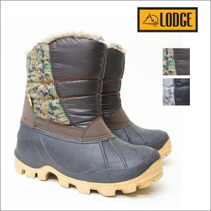 スノーブーツ ウインターブーツ ビーンブーツ メンズ 防寒 LODGE/ロッジ ktl1005|ablya