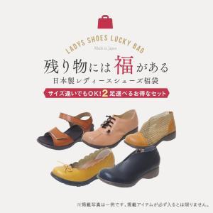 数量限定 日本製 靴 お好きなサイズを2足選べる 福袋 デザインは選べません レディース パンプス サンダル ハッピーバッグ 在庫処分 ヒール ローヒール ぺたんこ ablya