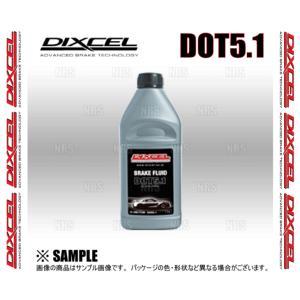 DIXCEL ディクセル ブレーキフルード DOT5.1 DOT5.1 1.0L 1本 (BF510-01|abmstore