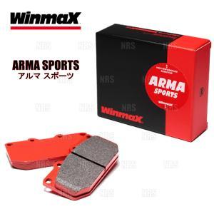 【新品】 WINMAX ARMA スポーツ AP1 (フロント) スカイラインクーペ CPV35 03/1〜07/10 ブレンボ (590-AP1|abmstore