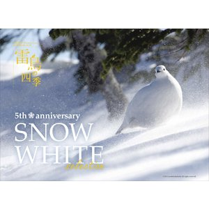 カレンダー「雷鳥の四季 2022」(2022年1月始まり)壁掛け|abncollection