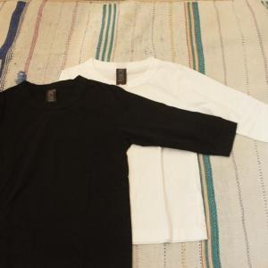 homspun (ホームスパン) 天竺七分袖Tシャツ 全2色|abracadabra