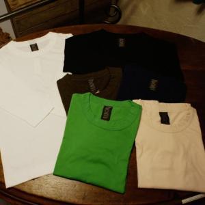 homspun (ホームスパン) 天竺七分袖Tシャツ 全6色 6450|abracadabra