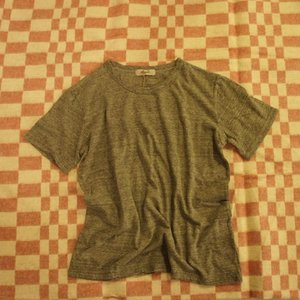 ICHI Antiquite's ベーシック半袖Tシャツ 杢グレー|abracadabra