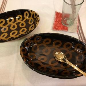 美濃焼 シェル型カレー皿 リーフ|abracadabra