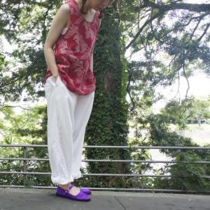 ANOKHI(アノキ) 木版染め ノースリーブバニアン 全8種類|abracadabra