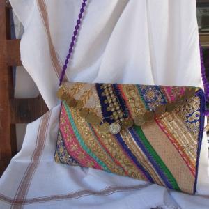 バンジャラ刺繍コインクラッチバッグ|abracadabra