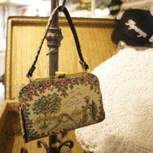 Vintage Bags ゴブラン織プチハンドバッグ|abracadabra