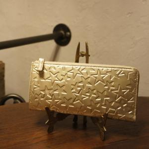 Coquette(コケット) エトワールギャルソン長財布 GOLD|abracadabra