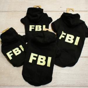 DOG WEAR  FBIパーカー L/XL|abracadabra