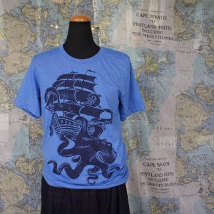ハンドプリントTシャツ バイキング|abracadabra