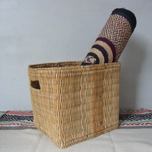 Moroccan Baskets ストローボックス/M|abracadabra