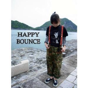 HAPPY BOUNCE(ハッピーバウンス) バンダナバウンスサスペンダー レッド HB-129-130 abracadabra
