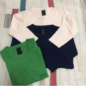 homspun (ホームスパン) 天竺七分袖Tシャツ 全3色 abracadabra