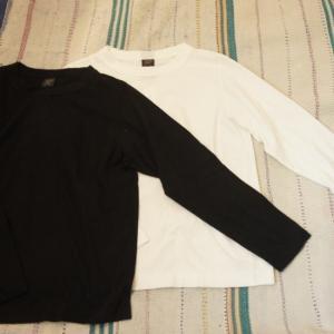 homspun (ホームスパン) 天竺長袖Tシャツ 全2色|abracadabra