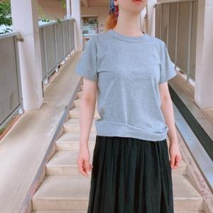 homspun (ホームスパン) 天竺半袖Tシャツ TOPグレー|abracadabra