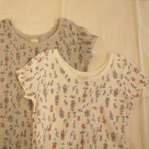 JEMORGAN(ジェーイーモーガン) 花柄サーマルクルーネックTシャツ 2色|abracadabra