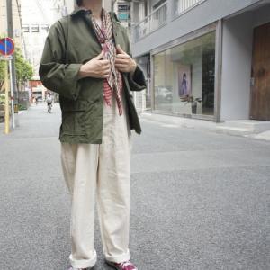 USA コットンポプリンユーティリティーシャツジャケット abracadabra