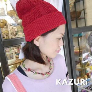 KAZURi Made in Kenya ホロホロチョウネックレス スプリング|abracadabra
