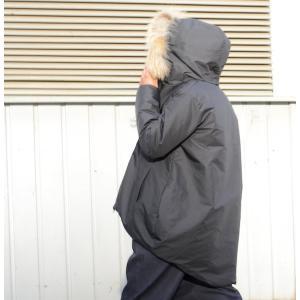 スワロウテイルダウンジャケット ブラック|abracadabra