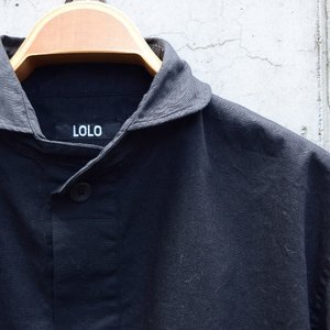 LOLO ロロ 定番プルオーバー ブラック LS-3|abracadabra