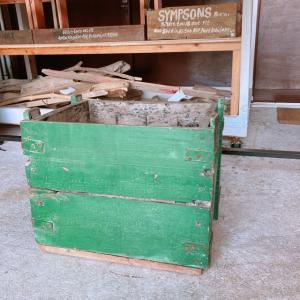 ミリタリーウッドボックス Green abracadabra