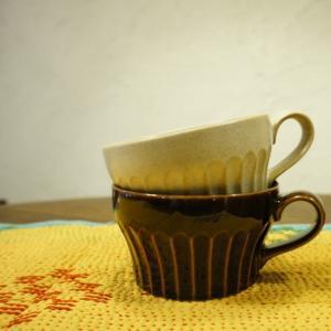 美濃焼 濃釉薬スープマグカップ 全2色|abracadabra