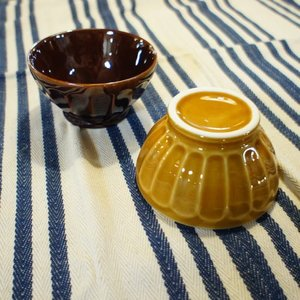 美濃焼 ケズリ茶碗 全2色|abracadabra