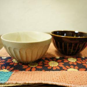 美濃焼 濃釉鎬茶碗 全2色|abracadabra