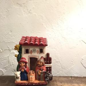 素焼きの置物 キリスト誕生B|abracadabra