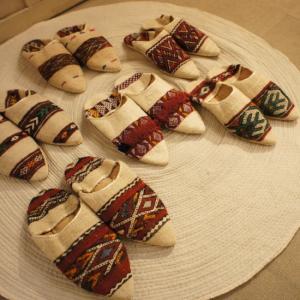 キリムのバブーシュ 全7種|abracadabra