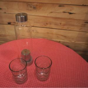 ガラスのティーボトル Lサイズ/550ml|abracadabra