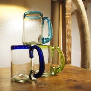 リサイクルガラス ビアグラス 全3色|abracadabra
