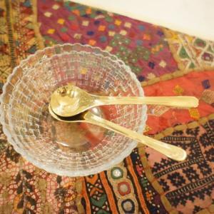 真鍮のデザートレンゲ|abracadabra