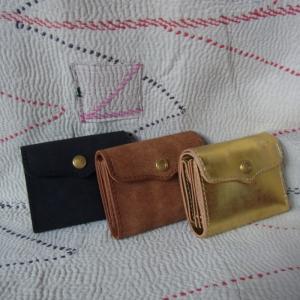 SARANAM(サラナン) コンパクト3つ折り財布 全3色|abracadabra