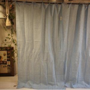 ナローストライカーテン ブルー 110x180cm|abracadabra