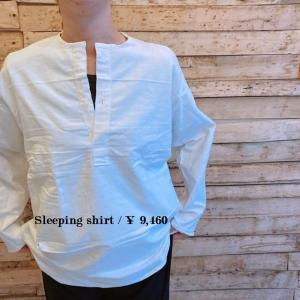 ロシア スリーピングシャツ ホワイト|abracadabra