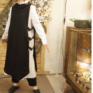 Topanga Fashion 丸襟ワンピース&ロングベスト|abracadabra