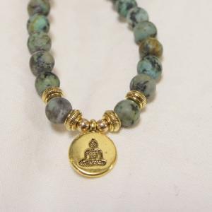 TOPANGA FASHION YOGAブレスレット アフリカストーン|abracadabra
