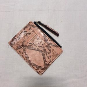 TOPANGA BAG パイソンコイン&カードケース ピンク|abracadabra