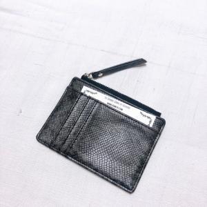 TOPANGA BAG パイソンコイン&カードケース ブラック|abracadabra