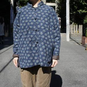 Topanga Fashion 小花キルトカンフージャケット|abracadabra