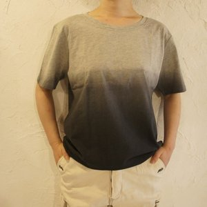 TOPANGA fashion グラデーションTシャツ グレー|abracadabra