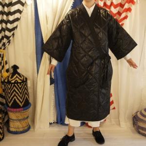 Topanga Fashion kimonoコート ブラック|abracadabra