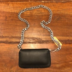 TOPANGA Bag チェーンウォレットバッグ ブラック|abracadabra