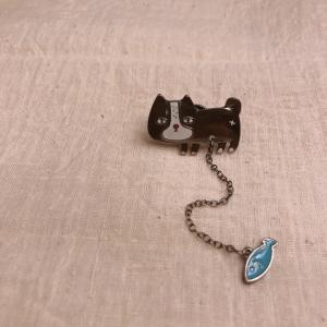 TOPANGA Accessory ピンブローチ Cat|abracadabra